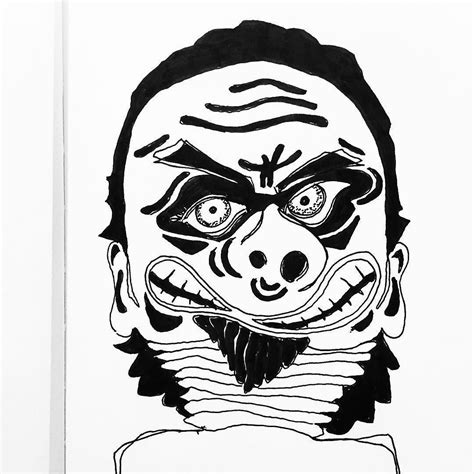 Japanese Demon Drawing Free Download On Clipartmag