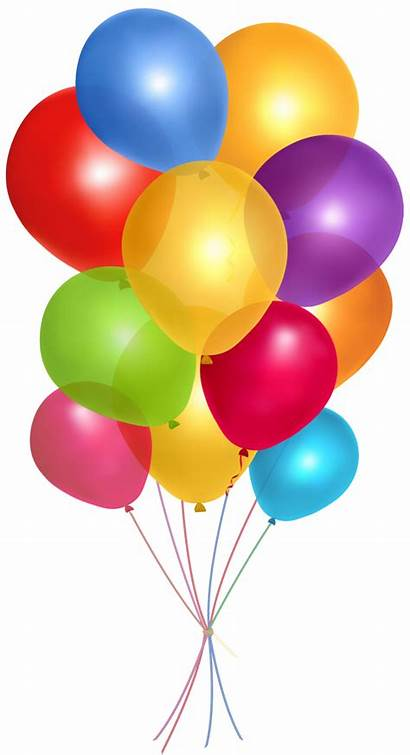 Clipart Balloons Transparent Ballons Background Birthday Library