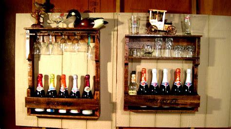 Wall Bar Shelves For Liquor