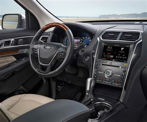 ford explorer 2017 interior 2017 ford explorer release date will surprise buyers this time