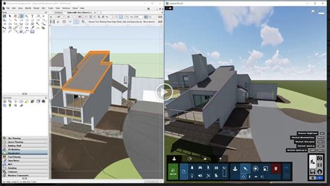 vectorworks gains  lumion  sync rendering   vgs technology