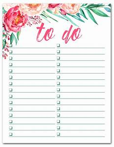 cool to do list template - free printable watercolor to do list free printable