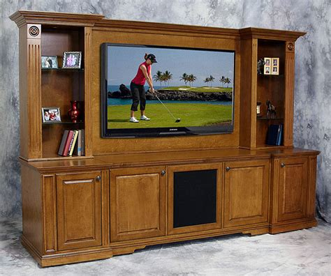 Castleton Wall Unit With Lighted Display Space Tailored