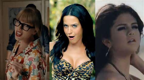 Taylor Swift Vs. Katy Perry Vs. Selena Gomez