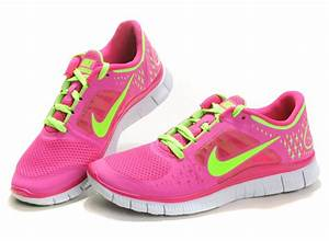 Online Outlet Nike Free Run 3 Womens Pink Green 2013 ...