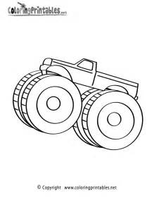 Free Printable Monster Truck Coloring Pages