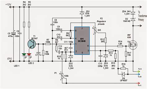 Adjustable Amp Smps Circuit Diagram Centre