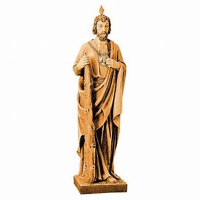 Statue Jude San Bois Judas Giuda Marron