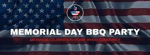 Memorial Day Bbq Party Facebook Cover Template