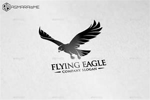 Flying Eagle Logo Template by ASMARAisME   GraphicRiver