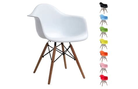 Chaises Plastique Transparent Couleur by Chaise Dsw Vitra Stunning Chair Eames Dsw White With