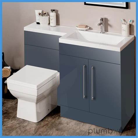 l shaped bathroom vanity suite l shape anthracite bathroom furniture suite basin btw