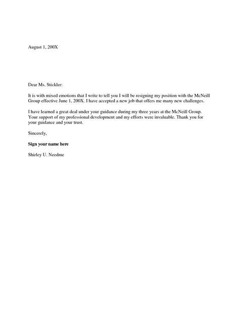 job resignation letter penn working papers