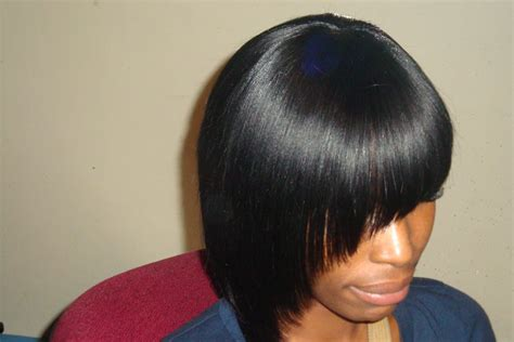 Weave Bob Haircuts For Black Women