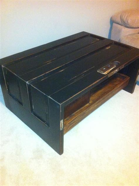 2 door coffee table folded door coffee table made from a 90 year old solid fir