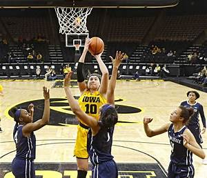 Iowa women's basketball heading back to high school for ...