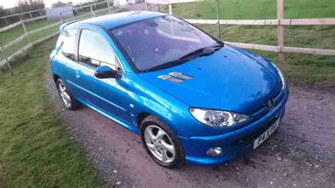 peugeot 206 xsi peugeot 2004 206 1 6 xsi private plate car for sale