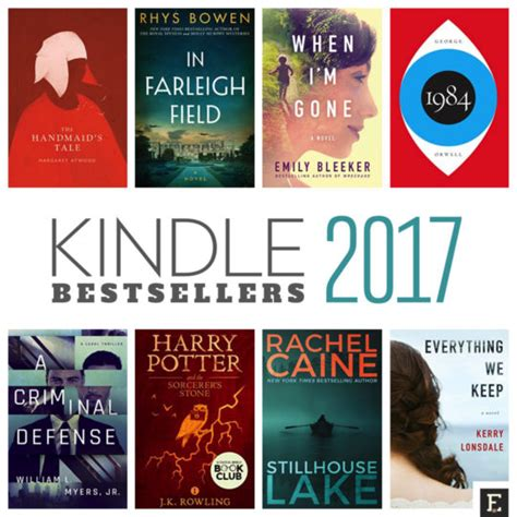best selling fiction book here are top 100 most popular kindle books of 2017