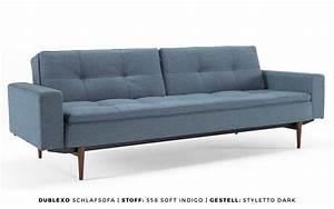 Dänisches Design Sofa : innovation schlafsofa dublexo mit armlehnen kaufen bei buerado ~ Indierocktalk.com Haus und Dekorationen
