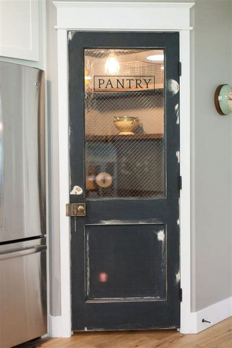 antique door pantry closet doesnt   spacious