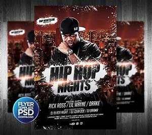 Hip hop flyer psd template by grandelelo on deviantart for Hip hop psd