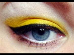 Bright Yellow with Winged Liner · Beyonce Telephone