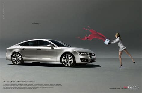 advertising  car brands bmw audi  mercedes print ads