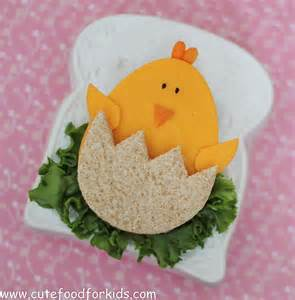 Cute Easter Sandwiches for Kids
