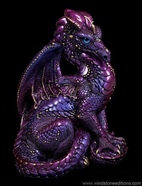 windstone editions lavender rose male dragon