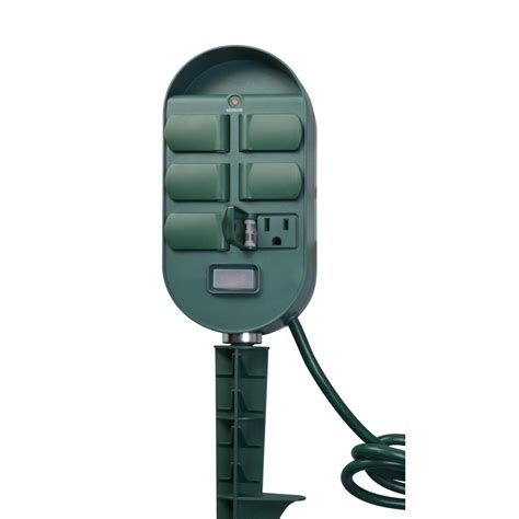 woods  amp indoor  outdoor plug  multi outlet