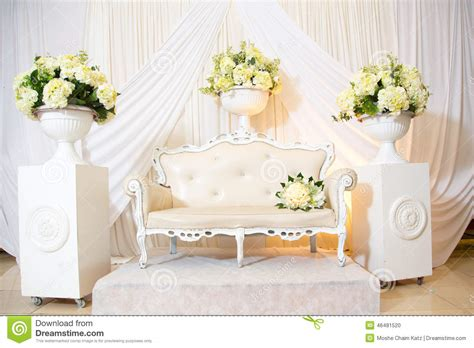 chaise mariage wedding chair of the stock photo image of