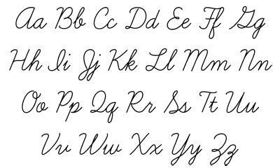 Прописные буквы английского алфавита  особенности, фото