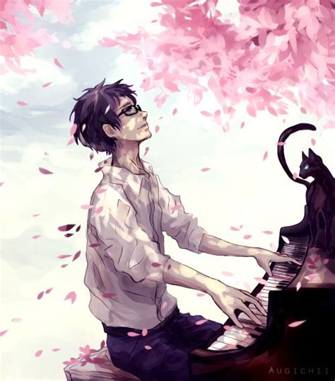Anime Art Music 25 Best Ideas About Your Lie In April On Pinterest