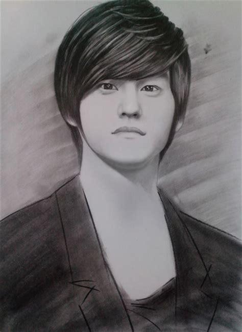 lively celeb portraits  pencil sketches news vietnamnet