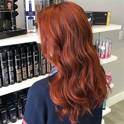 Hair Trends Redhead Dark Blonde Hairstyle Copper