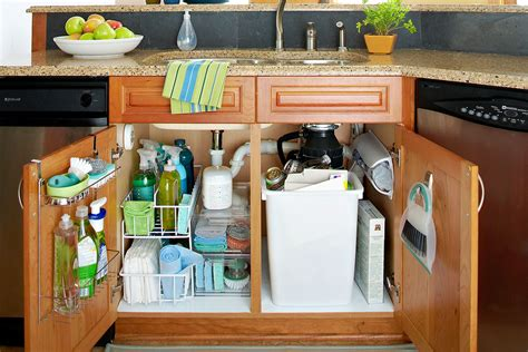 The Kitchen Sink Storage Ideas by 5 Storage Tips For The Sink In Your Bathroom Or