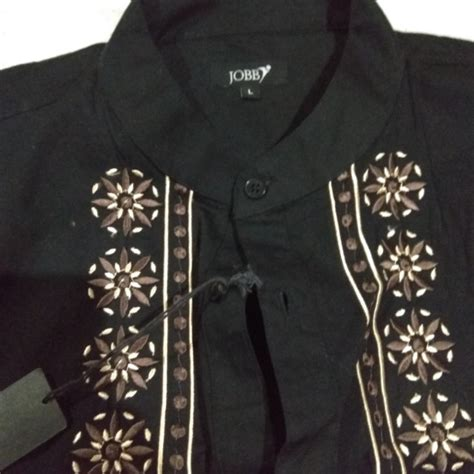 baju koko hitam pria olshop fashion olshop pria carousell