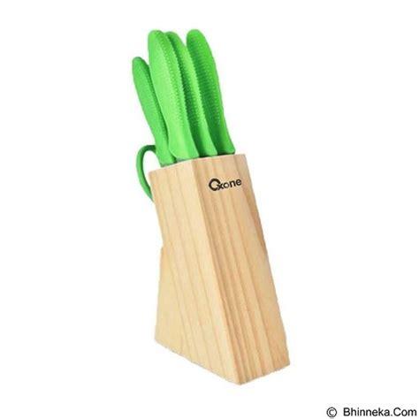 jual oxone knife set ox 961 green murah bhinneka