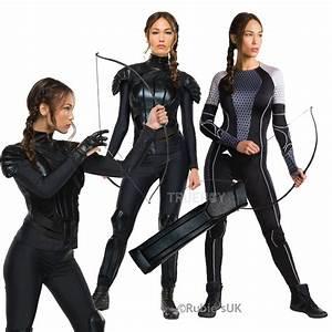 Womens Rubies Hunger Games Katniss Everdeen Fancy Dress ...