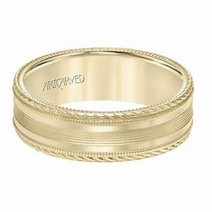 Fuller39s Jewelry ArtCarved ArtCarved Men39s Wedding Band