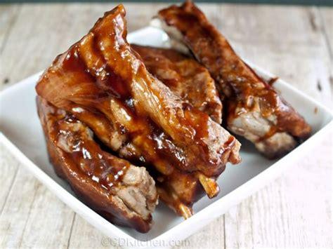 Boneless Pork Ribs Oven Slow Cooked