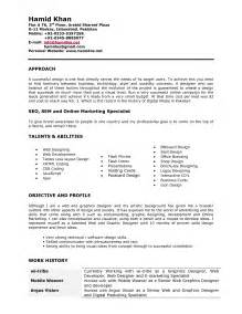 Pdf Resume Format For 3d Designer