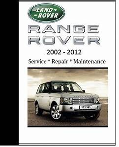 Land Rover Range Rover 2008 2009 2010 Repair Workshop