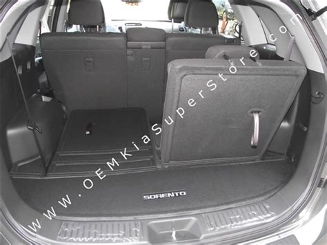 oem factory   kia sorento rear trunk carpeted