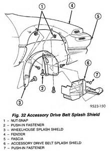 How Do I Replace A Power Steering Belt On A 2000 Sebring