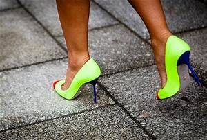 The Trend of Neon Shoes How to Wear Them