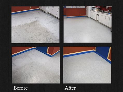 commercial flooring vct tile stripping and wax services