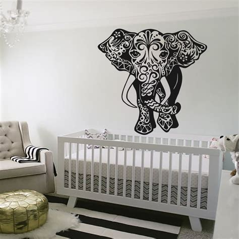 aliexpress buy removable wall stickers elephant wall