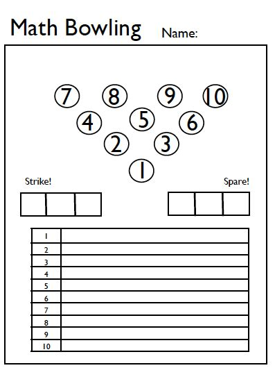 word problems equations worksheet math bowling focus on math