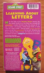 sesame street learning about letters vhs video ebay With sesame street learning about letters dvd